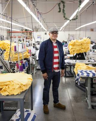 Raul Montero, head of production for M.Nii, at its manufacturer Lunas Inc