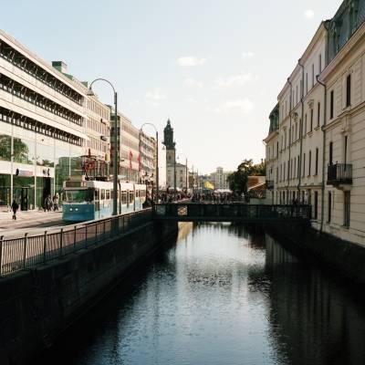Canal in central Gothenburg