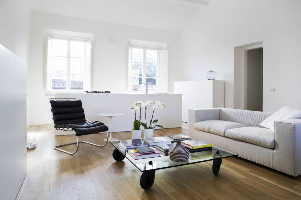 Dino Raccanello's living room