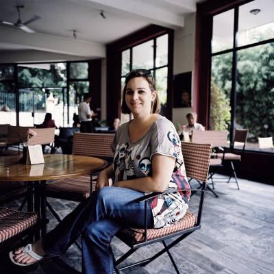Rachael Manley, owner of a new art café
