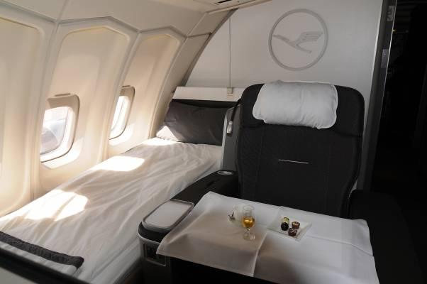 Lufthansa's upper deck