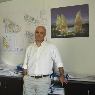 Flame Towers project manager Gokhan Girgin