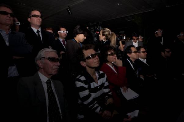 3D viewing at Hublot