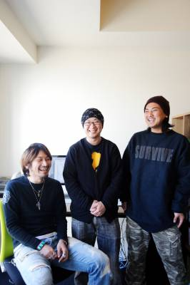 Wataru Ando, Keitaro Inoue and Takahiro Ogura