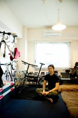 Tsubasa Nishimura, tenant in The Share