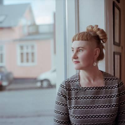 Sonja Grant, owner of Kaffi Midja