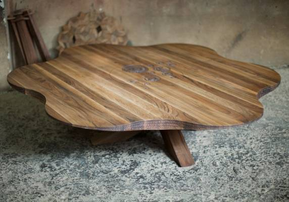 Daisy table by Salih Teskeredzic