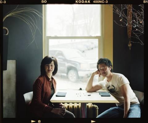 Chef Tak Ishiwata and mother Fumiko Ishiwata at Basho