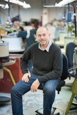 Owner of Esk, Stuart Maxwell