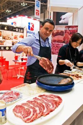 A meat company serves up fried steaks