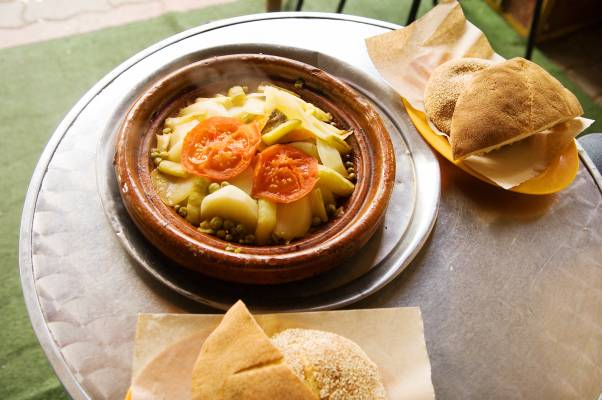 Tagine for lunch