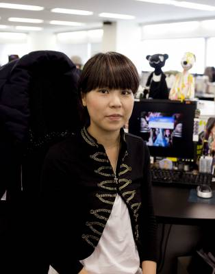 Chie Ogawa, 27, buyer