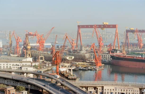 Dalian shipyard