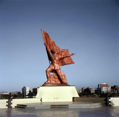 Military memorial in Suez City