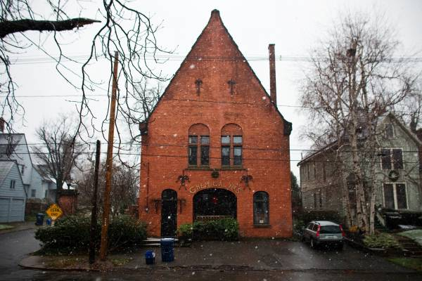 Fire Station converted into a residential home