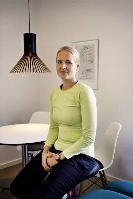 Physiotherapist Carina Ness