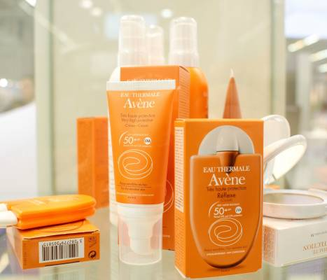 Range of Avène products from Pierre Fabre
