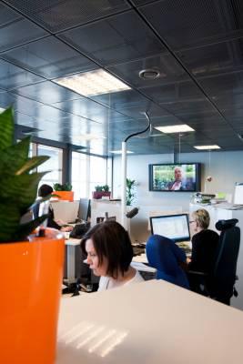 Sitra, Helsinki: office view