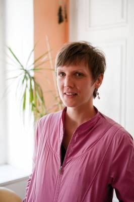 Resident Irene Moser