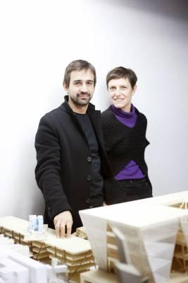 Maria Claudia Clemente and Francesco Isidori, Labics architecture practice