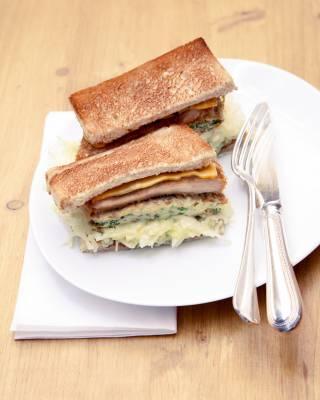 Tonkatsu sandwich, Abri, Paris