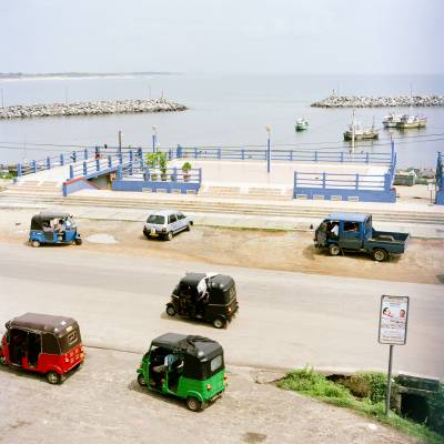 The seafront