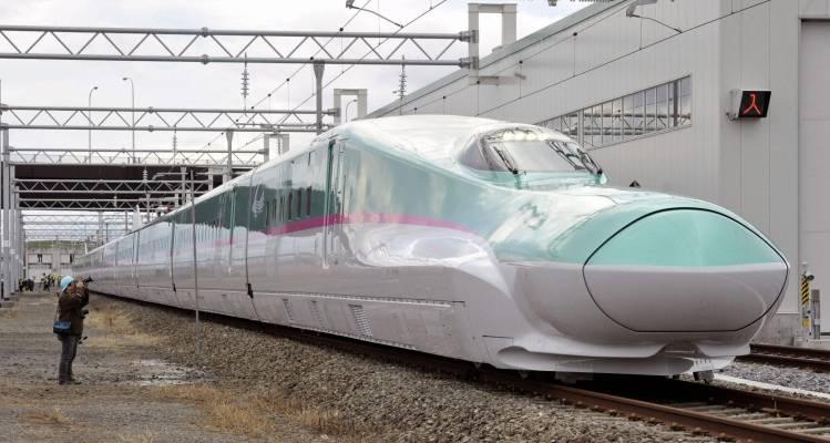 Tokyo to Shin-Aomori Shinkansen