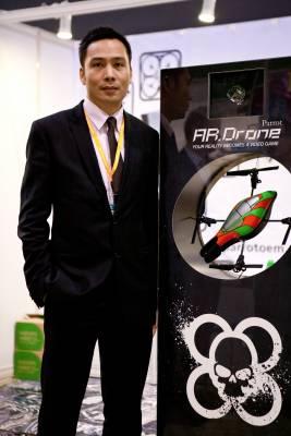 Parrot's Ronald Cheung