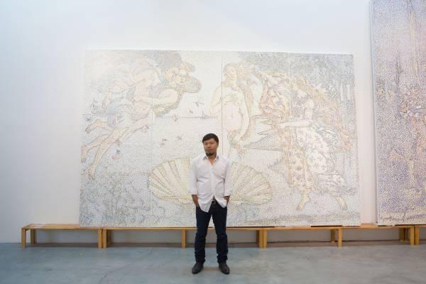 Chengdu artist Yang Mian