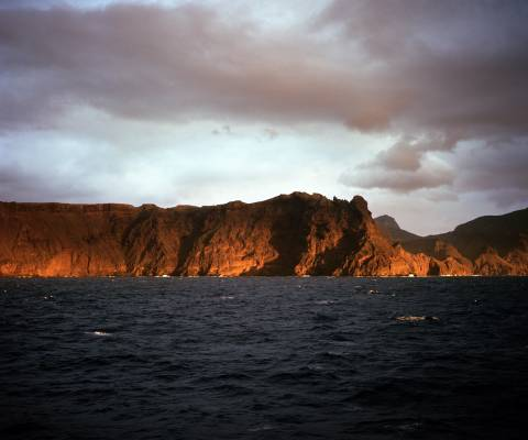 Land ahoy: landing at St Helena