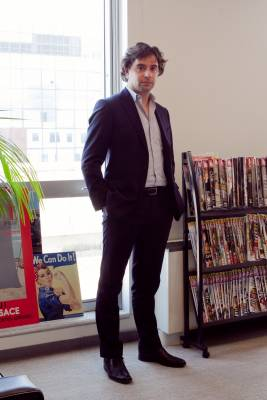 Publisher Edouard Minc