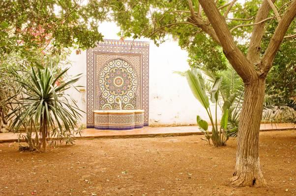Tahir Shah's house, Dar Khalifa