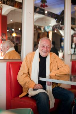 Norbert Gastell, the 81-year-old voice of Homer Simpson