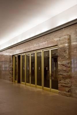 Weltsaal entrance