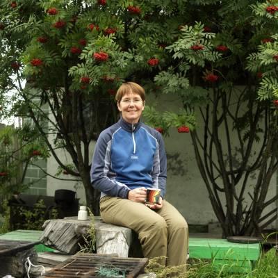 Martha Madsen, an Alaskan resident of Kamchatka