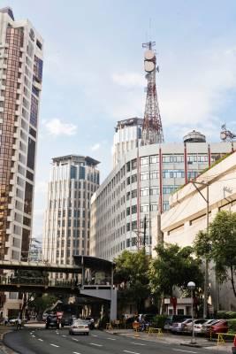 Makati district of Manila