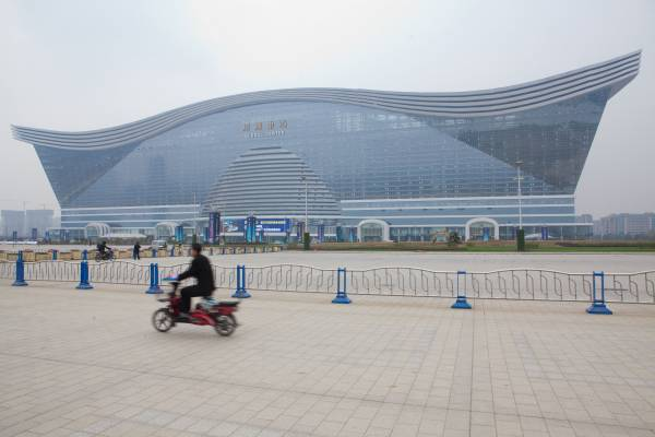 Global Centre close to Tianfu New Area, south of Chengdu