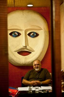 Nikhil Kapoor at Rio Recording Studios in central Mumbai