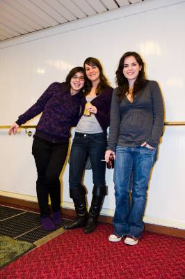 Anna, Maria and Raquel from Spain