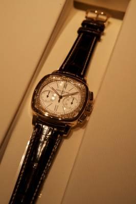 Bejewelled Patek Philippe timepiece