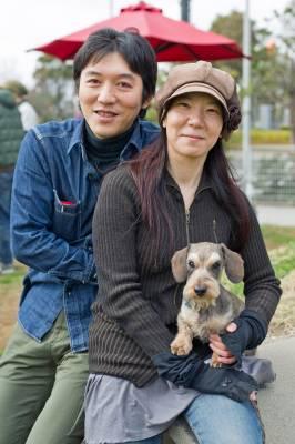 Mr and Mrs Takahashi with Raita
