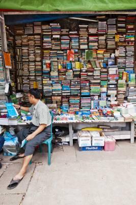 Street stall bookshop