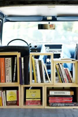 Book Truck, Shuhei Mita, Tokyo