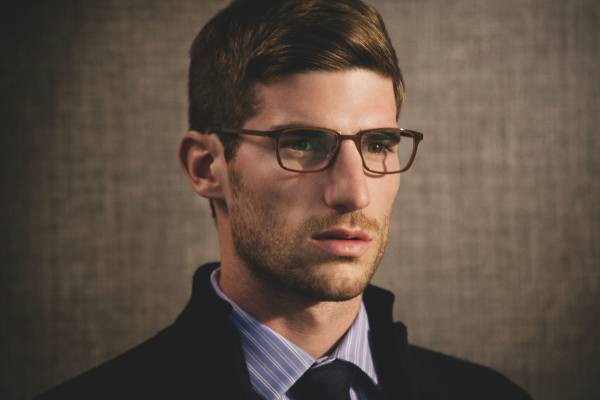 Eyewear by Lindberg, Jackett by Avon Celli, Shirt by Dunhill, Tie by Oliver Spencer