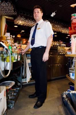 Head barman Arne Schreck