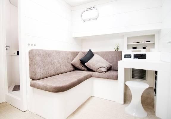 Bluegame 60' interior