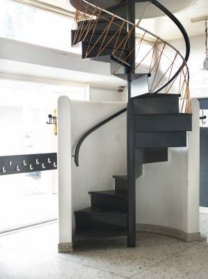 Staircase in the community hall