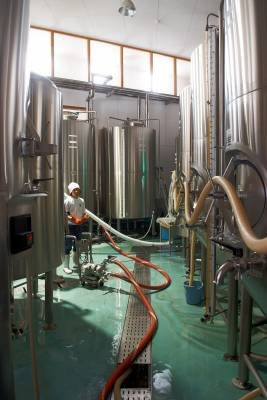 Swan Lake brewery's Ryuji Honda whips up another batch