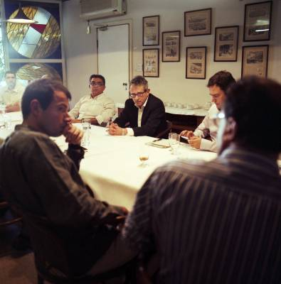 Editors' lunch with Otavio Frias Filho