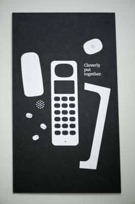 Brochure for Punkt's DP 01 phone